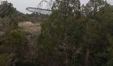 """بيان صادر عن """"مؤسسة كهرباء لبنان"""" بشأن سقوط برج توتر عالي في بعلبك"""