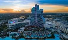 """Seminole hard rock""أول فندق على شكل غيتار"