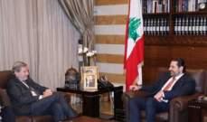 هان: جاهزون لتقديم دعم بقيمة 1.5 مليار يورو للإستثمارات في لبنان