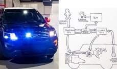 تطوير نظام تدفئة لتدمير كورونا في سيارات الشرطة