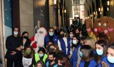 """""""مؤسسة رينه معوض"""" و""""LIVE LOVE"""" تفتتحان سوق الميلاد للعائلات المتضرّرة من انفجار المرفأ"""