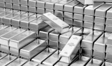 تراجع اسعار البلاتينيوم بنسبة 3.83% الى 770.95 دولارللأونصة