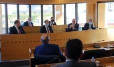 لقاء في المجلس الإقتصادي للبحث بموضوع إجراءات الإقفال وإعادة العمل