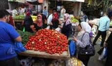 فلسطين: انخفاض مؤشر غلاء المعيشة خلال كانون الثاني