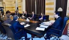 """بدء اللقاء بين رئيس الحكومة ووفد خبراء """"صندوق النقد الدولي"""""""