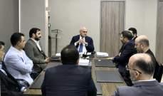 """وزير المال بحث معوفدمن نقابة موظفي """"ALFA"""" و""""TOUCH"""" في أوضاع القطاع"""