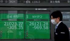 """مؤشر """"نيكي"""" الياباني ينهي التداولات على ارتفاع لكنه يسجل خسائر أسبوعية"""