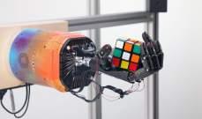 """يد روبوتية تمكنت من حل مكعب """"روبيك"""" خلال 3 دقائق تقريباً"""
