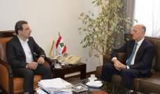 أبوفاعور تابع واللواء ريفي اموراً صناعية وبيئية تخصّ طرابلس والشمال