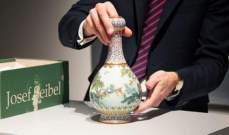 بيع مزهرية صينية في مزاد مقابل أكثر من 18 مليون دولار