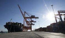ارتفاع صادرات تركيا إلى دول الجوار بنسبة 34,5 بالمئة خلال الأشهر الـ8 الأولى من 2021