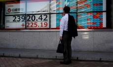 """ارتفاع مؤشر """"نيكي"""" عند الإغلاق مع اقتناء المستثمرين للأسهم المتراجعة"""