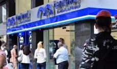 برقية تطلب تشديد الإجراءات الأمنية أمام المصارف في بيروت