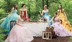 """بالصور: """"ديزني"""" تتعاون مع""""Allure Bridals"""" لإطلاقفساتين زفاف"""