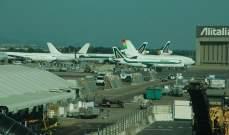 إلغاء عشرات الرحلات الجوية في إيطاليا بسبب إضراب شامل في القطاع