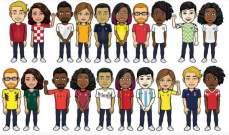 """""""بيتموجي"""" يتيح ارتداء قمصان المنتخبات المشاركة في كأس العالم"""