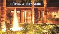 """اقفال فندق """"Alexandre"""" في منطقة الأشرفية"""