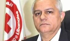 """كتانة يكشف عن نقص في تمويل وتجهيزات """"الصليب الأحمر اللبناني"""""""