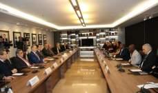 شقير إستقبل رئيس مجلس نواب غينيا بيساو: مهتمون بتطوير العلاقات الإقتصادية بين البلدين