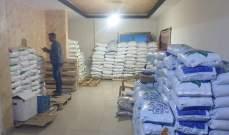 ضابطة جمارك صيدا: توقيف شبكة كاملة لتهريب اسمدة زراعية مزورة وضبط 75 طن منها