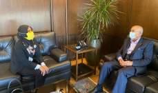رئيس غرفة التجارة بالجنوب يبحث التعاون الإقتصادي بين لبنان وإندونيسيا