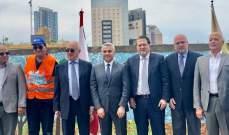 """ضمن """"ألفا من أجل الحياة""""...إطلاق مشروع """"من أجل مدن مستدامة"""" في الدكوانة ومبادرة لتجميل المنطقة"""