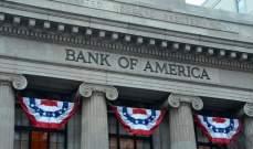 """إرتفاع أرباح """"بنك أوف أميركا"""" بنسبة 15% في الربع الثالث"""