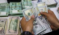 الدولار فوق مستوى 12 ألف ليرة من جديد مع غياب التوافقات السياسية