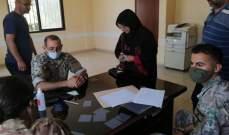 الجيش يستكمل توزيع المساعدات المالية في عكار
