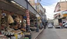 جمعية تجار بعلبك: الحركة الاقتصادية في بعلبك مقارنة مع السنة الماضية تراجعت حوالي 70%