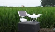 """""""DJI"""" تطور طائرات بدون طيار للعناية بالمحاصيل الزراعية"""