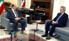 سلامة: الإمكانيات متوافرة لمتابعة تنفيذ سياسات مصرف لبنان