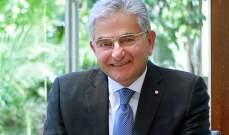 صفير: هناك ثقة كبيرة من قبل المودعين والمستثمرين في المصارف اللبنانية