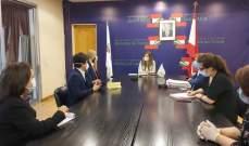يمين تبحث مع ممثلي سفارتي الفلبين وبنغلادش تنظيم عودة طوعية للعمال لبلادهم