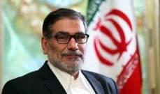 إيران: لدينا خيارات لتحييد إعادة فرض العقوبات الأميركية على صادراتنا النفطية