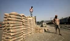 نمو قوي للطلب على الإسمنت في الهند