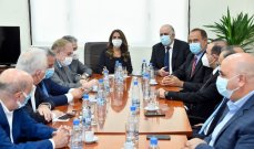 لجنة الاقتصاد بحثت مع وزراء في قضية حظر التصدير إلى السعودية