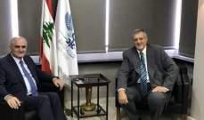 خليل بحث في القضايا الاقتصادية والمالية مع المنسق الخاص للأمم المتحدة في لبنان