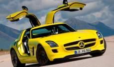 """""""مرسيدس"""" تطور سيارتها الرياضية الكهربائية """"SLS AMG"""" بالكامل"""