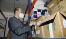 حسن من الكرنتينا: الدعم الذي قُدّم لإعادة ترميم المستودعات حال دون حصول أزمة دواء