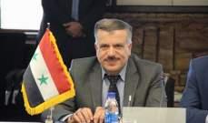 وزير سوري: الكهرباء ستصل لريفي حلب الشرقي والرقة هذا العام