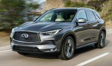 """""""إنفينيتي"""" تكشف عن نموذجها الجديد من سيارات """"QX50"""""""