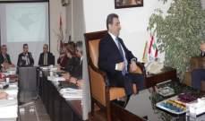 أبو فاعور إلتقى السفير المصري وإفتتح ورشة عمل للملحقين الاقتصاديين