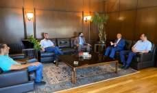 أبو حيدر بحث مع رئيس غرفة صيدا والجنوب في الأوضاع الاقتصادية