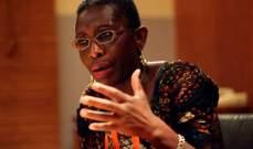 """تعيين اللّيبيرية أنطوانيت سايح نائبة لمديرة """"صندوق النقد الدولي"""""""