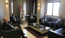 غجر بعد اجتماعه بوزني: قرار القضاء بالحجز على البواخر قد يجلب العتمة الكاملة