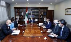 الرئيس عون يبحث خطة إعادة إعمار المناطق المتضررة في إنفجار المرفأ
