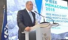 """الجراح في افتتاح مؤتمر """"IEEE MenaComm"""": لقطاع الاتصالات أهمية كبيرة في تطوير اقتصادنا ونموه"""