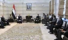إيران وسوريا.. تأكيد على تعزيز علاقات التعاون في مجالات البنى التحتية والإسكان