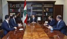 """الرئيس عون: لتطبيق تدابير مكافحة """"كورونا"""" مع المحافظة على الحياة الاقتصادية بمختلف قطاعاتها"""